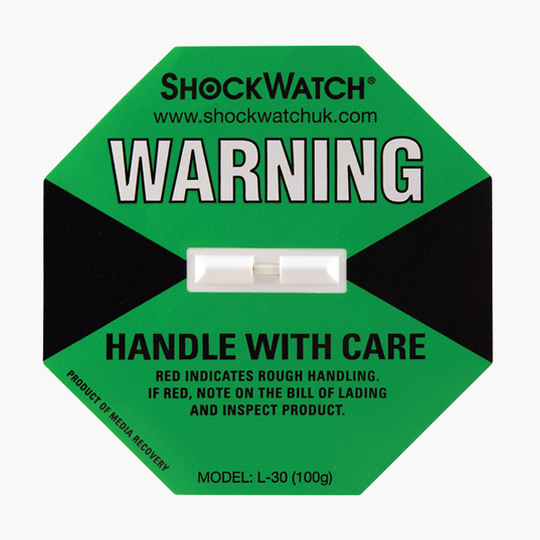 ShockWatch-Green-Label-100g